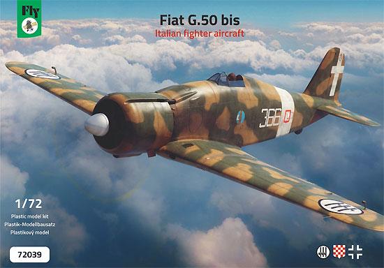 フィアット G.50bisプラモデル(フライ1/72 エアクラフト プラモデルNo.72039)商品画像