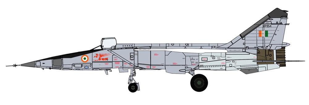 ミグ 25RBT フォックスバット ワールド フォックスバットプラモデル(ハセガワ1/72 飛行機 限定生産No.02308)商品画像_2