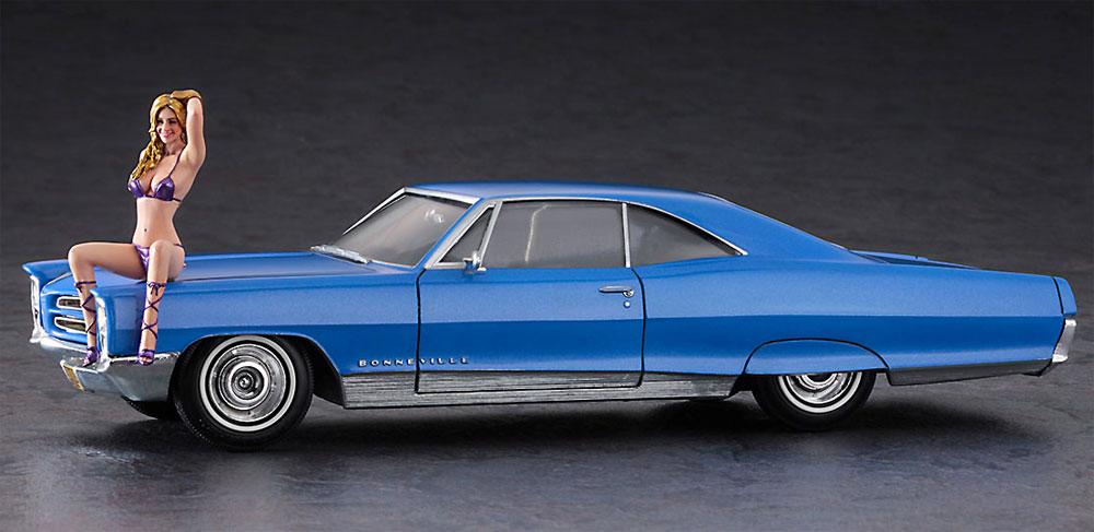 1966 アメリカン クーペ タイプ P w/ブロンドガールズフィギュアプラモデル(ハセガワ1/24 自動車 限定生産No.SP424)商品画像_2