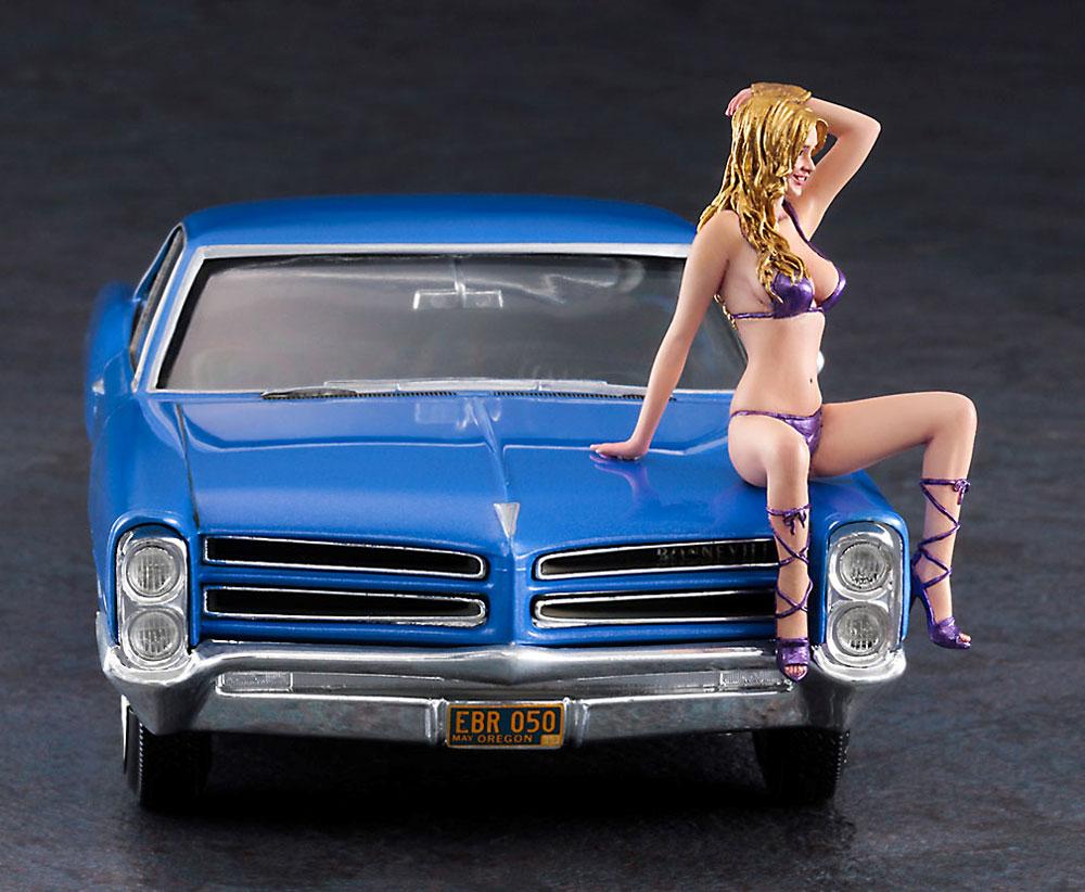 1966 アメリカン クーペ タイプ P w/ブロンドガールズフィギュアプラモデル(ハセガワ1/24 自動車 限定生産No.SP424)商品画像_4