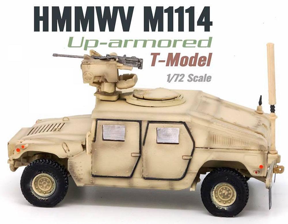 U.S. M1114 HMMWV HA w/CROWS サンドイエロー完成品(ティーモデル1/72 塗装済完成品No.TMOTF7205)商品画像_2
