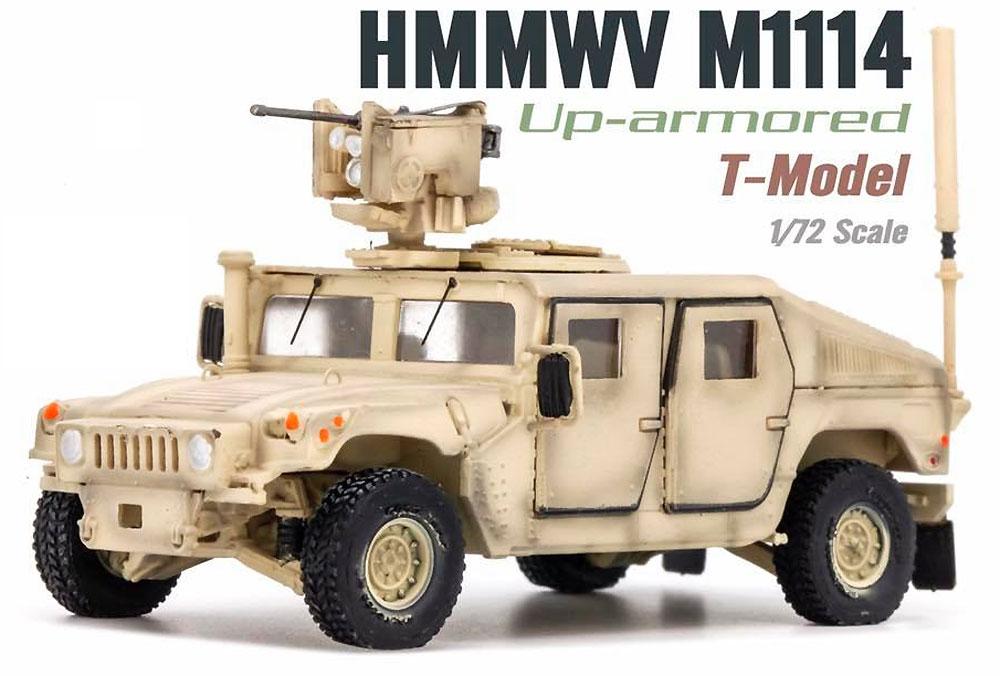 U.S. M1114 HMMWV HA w/CROWS サンドイエロー完成品(ティーモデル1/72 塗装済完成品No.TMOTF7205)商品画像_3