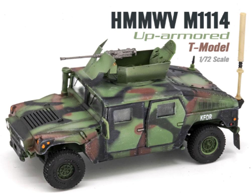 U.S. M1114 HMMWV HA NATO迷彩完成品(ティーモデル1/72 塗装済完成品No.TMOTF7211)商品画像_1