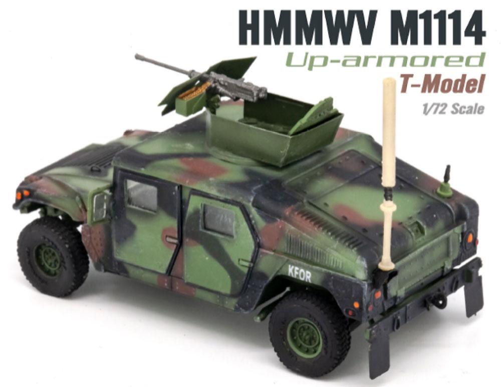U.S. M1114 HMMWV HA NATO迷彩完成品(ティーモデル1/72 塗装済完成品No.TMOTF7211)商品画像_2