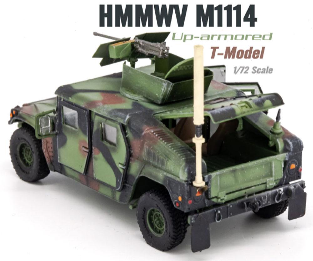 U.S. M1114 HMMWV HA NATO迷彩 ドア開放完成品(ティーモデル1/72 塗装済完成品No.TMOTF7212)商品画像_2