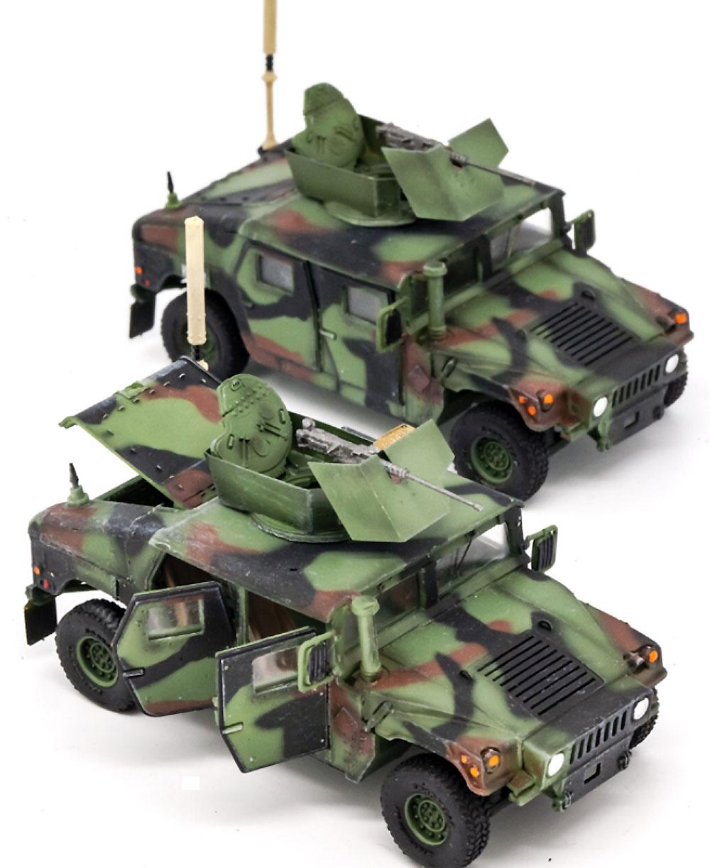 U.S. M1114 HMMWV HA NATO迷彩 ドア開放完成品(ティーモデル1/72 塗装済完成品No.TMOTF7212)商品画像_3