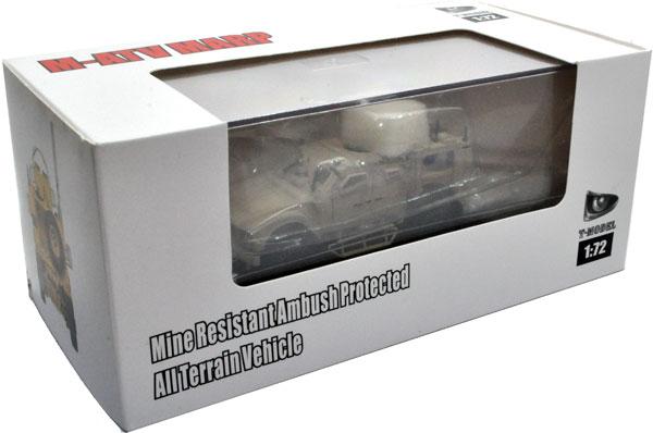 M1240 M-ATV MARP w/O-GPK砲塔プラモデル(ティーモデル1/72 塗装済完成品No.TMOTF7402)商品画像