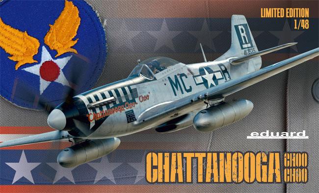 チャタヌーガ・チュー・チュー P-51D-5プラモデル(エデュアルド1/48 リミテッドエディションNo.11134)商品画像