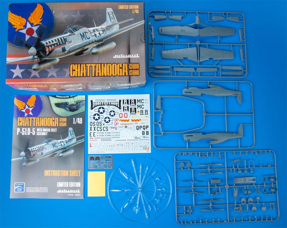 チャタヌーガ・チュー・チュー P-51D-5プラモデル(エデュアルド1/48 リミテッドエディションNo.11134)商品画像_1