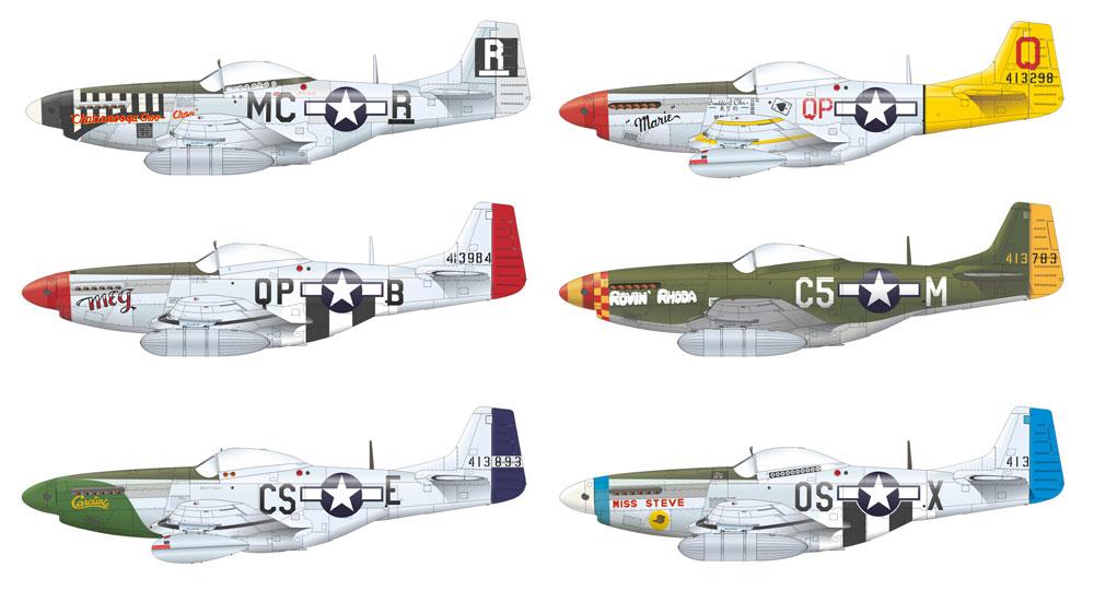 チャタヌーガ・チュー・チュー P-51D-5プラモデル(エデュアルド1/48 リミテッドエディションNo.11134)商品画像_2