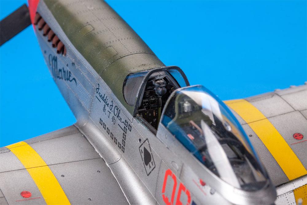 チャタヌーガ・チュー・チュー P-51D-5プラモデル(エデュアルド1/48 リミテッドエディションNo.11134)商品画像_4
