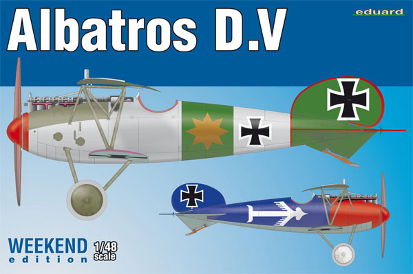 アルバトロス D.Vプラモデル(エデュアルド1/48 ウィークエンド エディションNo.8408)商品画像