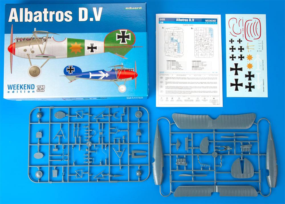 アルバトロス D.Vプラモデル(エデュアルド1/48 ウィークエンド エディションNo.8408)商品画像_1