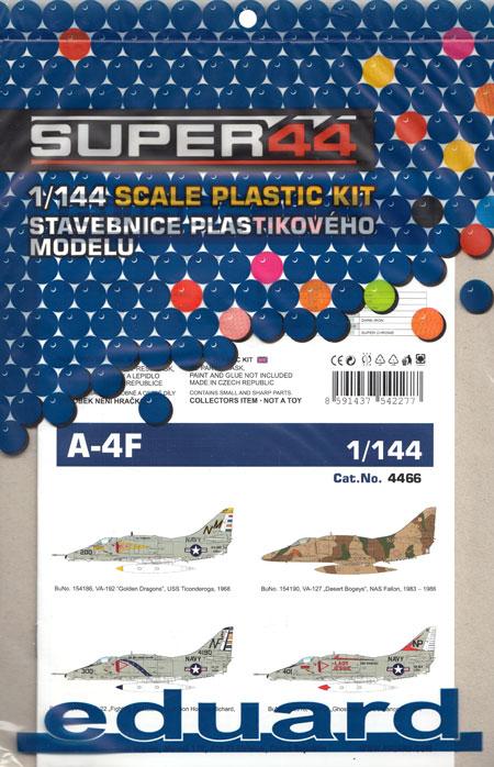 A-4F スカイホークプラモデル(エデュアルド1/144 SUPER44No.4466)商品画像