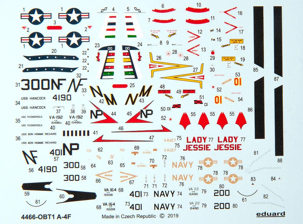 A-4F スカイホークプラモデル(エデュアルド1/144 SUPER44No.4466)商品画像_2