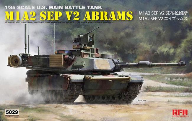 M1A2 SEP V2 エイブラムスプラモデル(ライ フィールド モデル1/35 Military Miniature SeriesNo.5029)商品画像