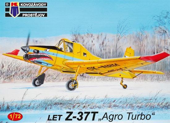 LET Z-37T アグロターボ 農業機プラモデル(KPモデル1/72 エアクラフト プラモデルNo.KPM0145)商品画像