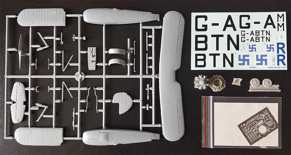 ホーカー ハート B.4プラモデル(AZ model1/72 エアクラフト プラモデルNo.AZ7619)商品画像_1