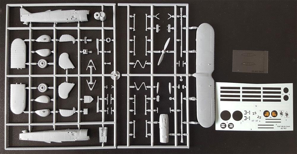 フィアット CR-32 スペイン内戦プラモデル(AZ model1/72 エアクラフト プラモデルNo.AZ7621)商品画像_1