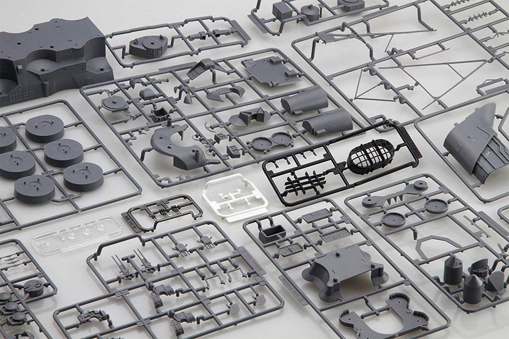 戦艦 大和 中央構造プラモデル(フジミ集める装備品シリーズNo.004)商品画像_1