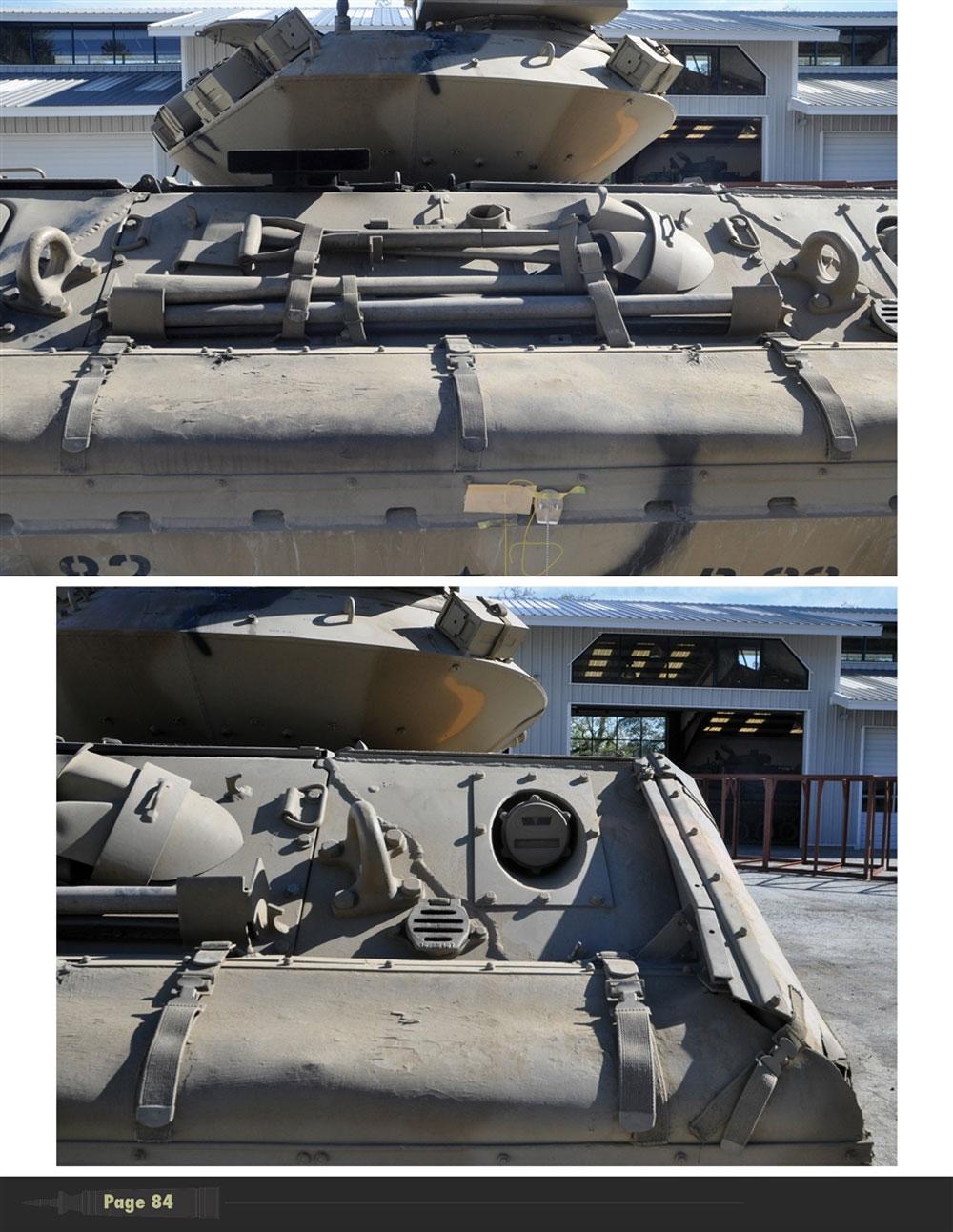 アメリカ陸軍 空挺戦車 M551 シェリダン イン ディテール本(モデルアート資料集No.MDP-021)商品画像_4