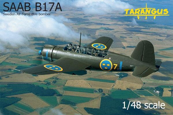 サーブ B17A 急降下爆撃機プラモデル(タラングス1/48 エアクラフト プラモデルNo.TA4809)商品画像