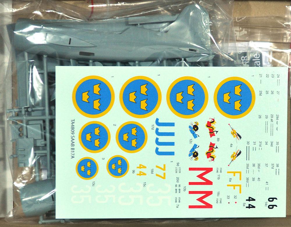 サーブ B17A 急降下爆撃機プラモデル(タラングス1/48 エアクラフト プラモデルNo.TA4809)商品画像_1