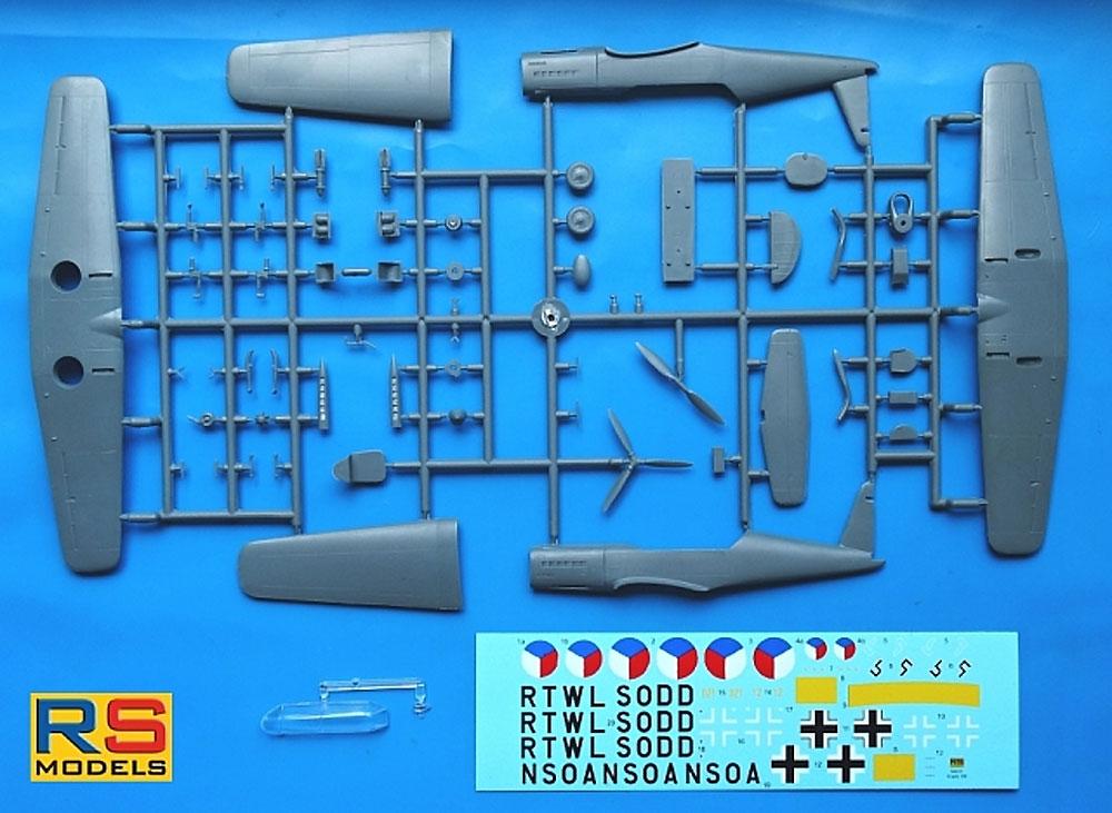 アラド Ar396 高等練習機プラモデル(RSモデル1/72 エアクラフト プラモデルNo.92231)商品画像_2