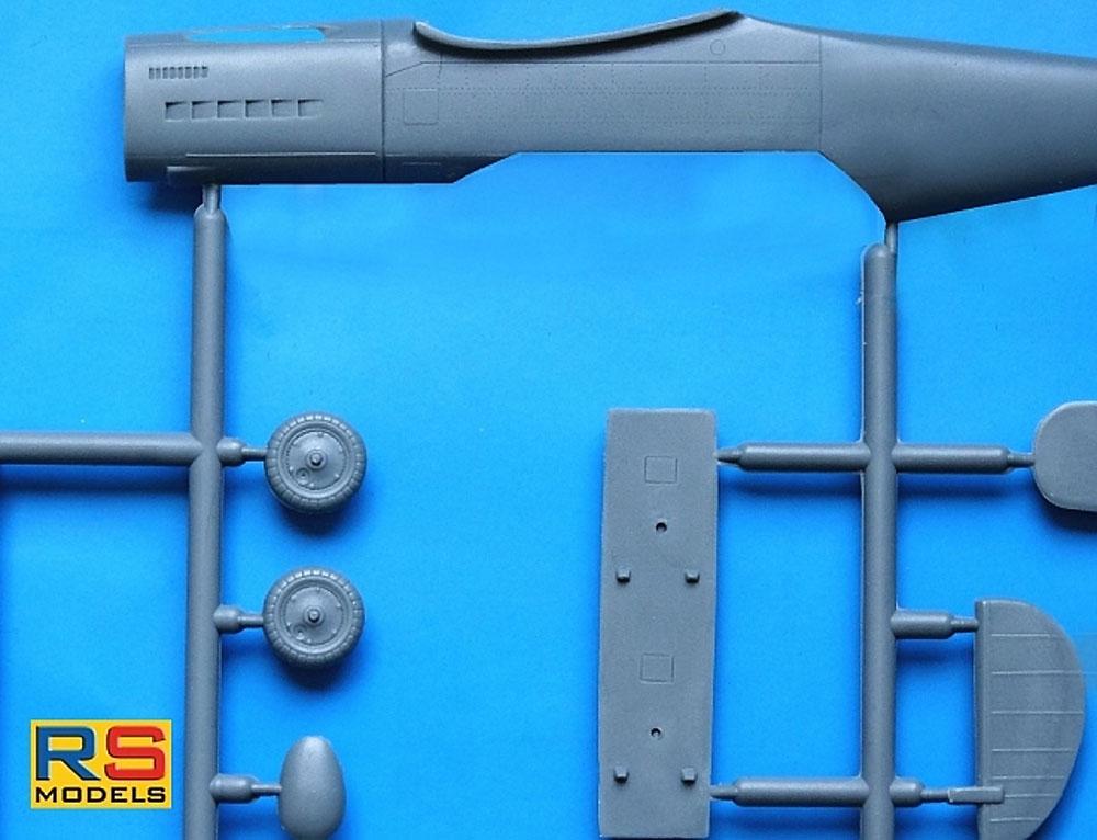 アラド Ar396 高等練習機プラモデル(RSモデル1/72 エアクラフト プラモデルNo.92231)商品画像_3