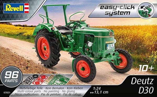 Deutz D30 トラクタープラモデル(レベルカーモデルNo.07821)商品画像