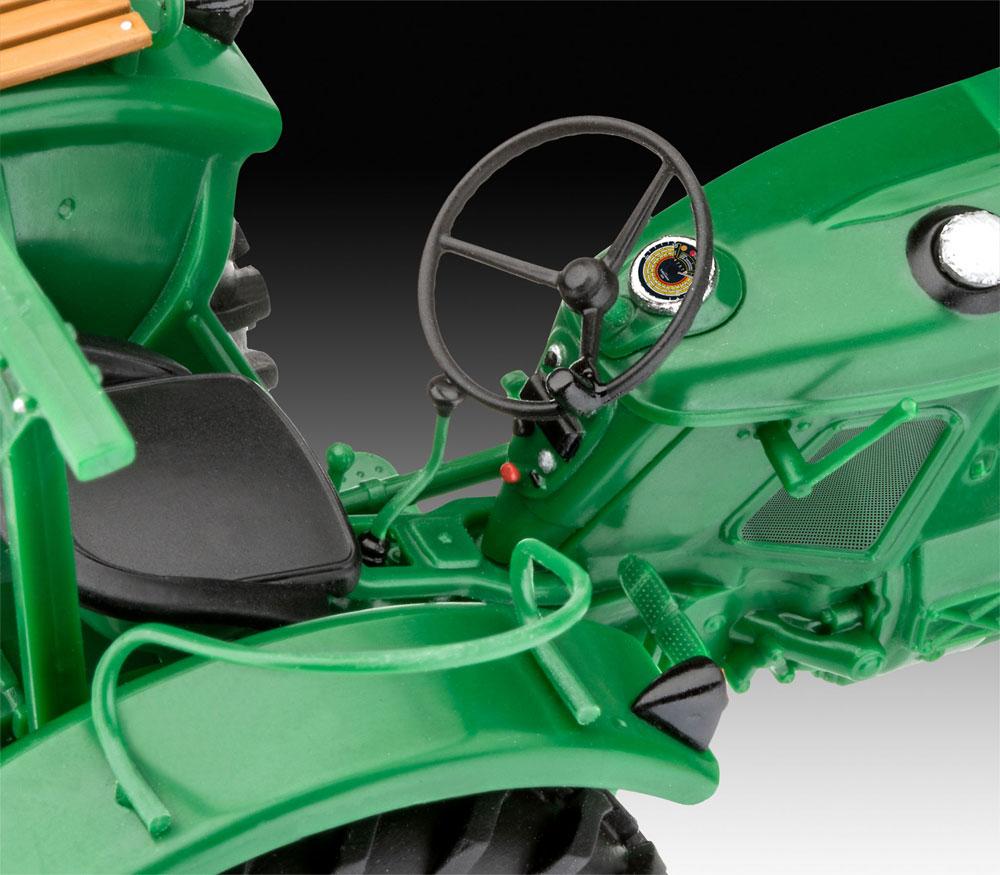 Deutz D30 トラクタープラモデル(レベルカーモデルNo.07821)商品画像_3