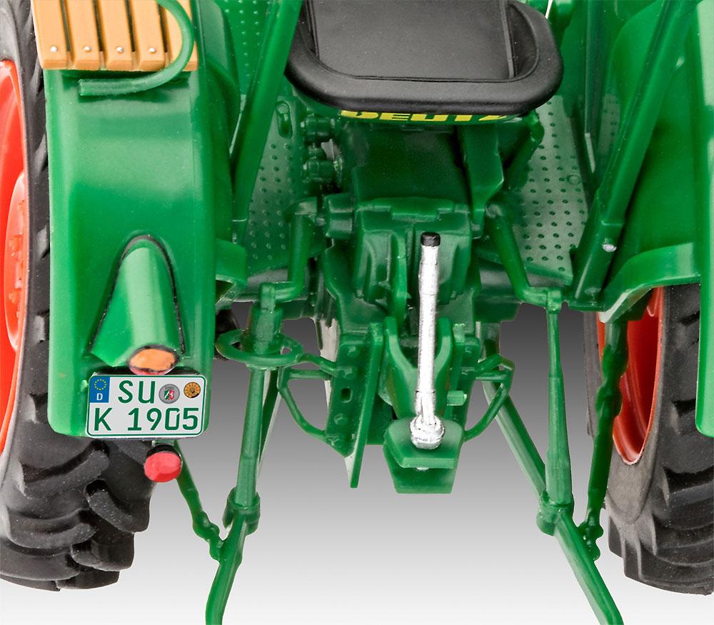 Deutz D30 トラクタープラモデル(レベルカーモデルNo.07821)商品画像_4