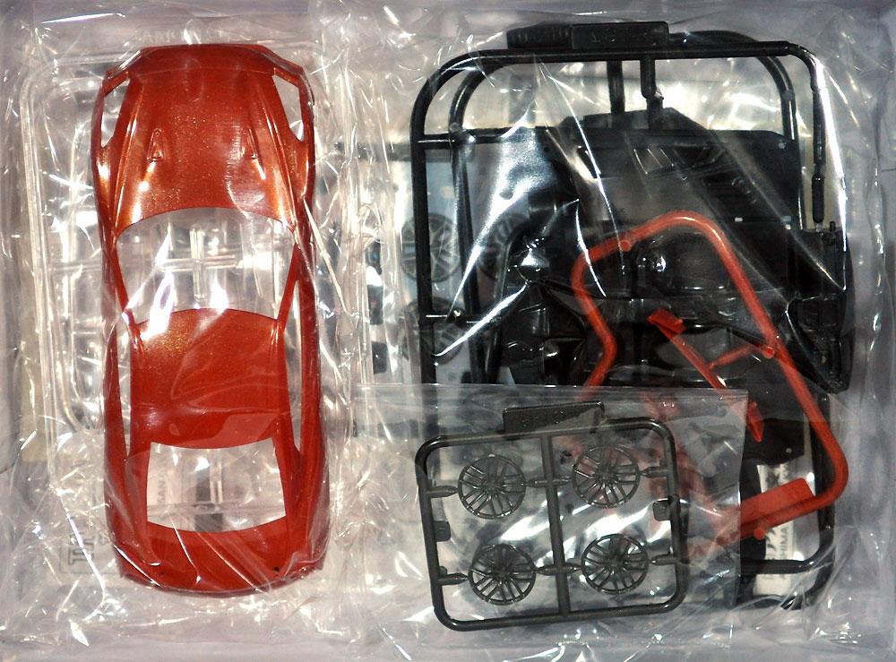 ニッサン GT-R アルティメイトシャイニーオレンジプラモデル(アオシマザ・スナップキットNo.007-A)商品画像_1