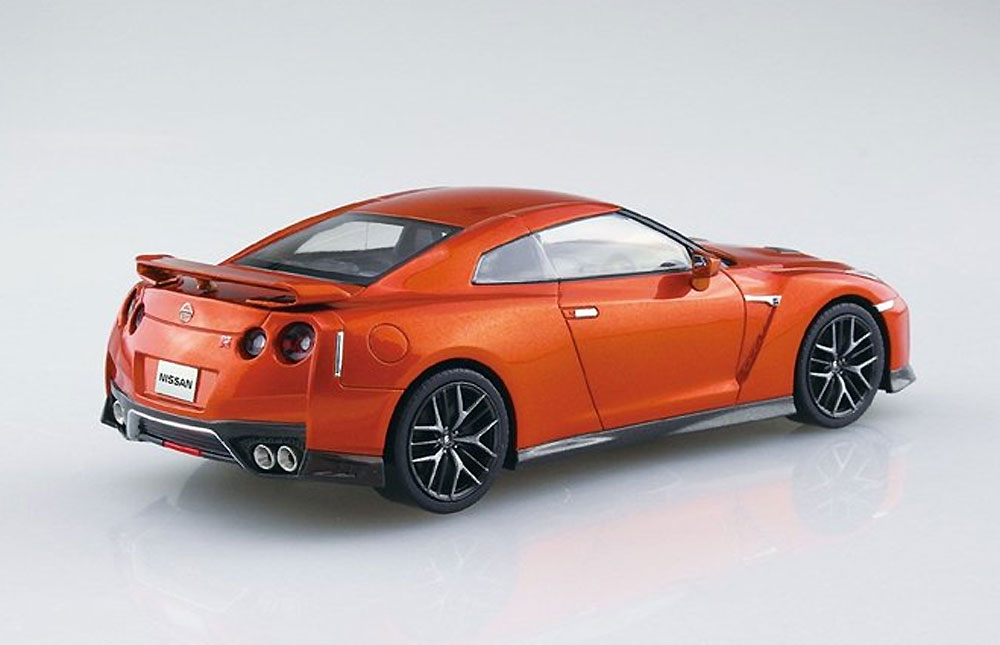 ニッサン GT-R アルティメイトシャイニーオレンジプラモデル(アオシマザ・スナップキットNo.007-A)商品画像_4