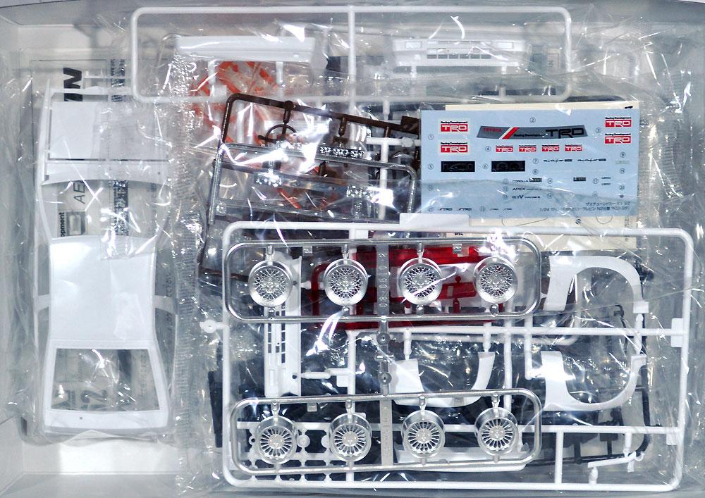 TRD AE86 カローラレビン N2仕様 '83 (トヨタ)プラモデル(アオシマ1/24 ザ・チューンドカーNo.062)商品画像_1