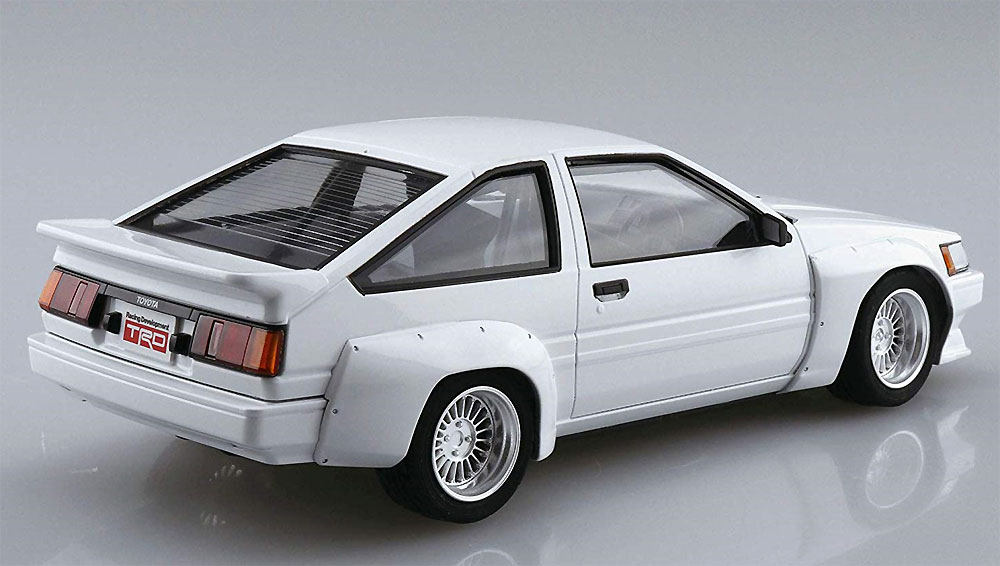 TRD AE86 カローラレビン N2仕様 '83 (トヨタ)プラモデル(アオシマ1/24 ザ・チューンドカーNo.062)商品画像_3