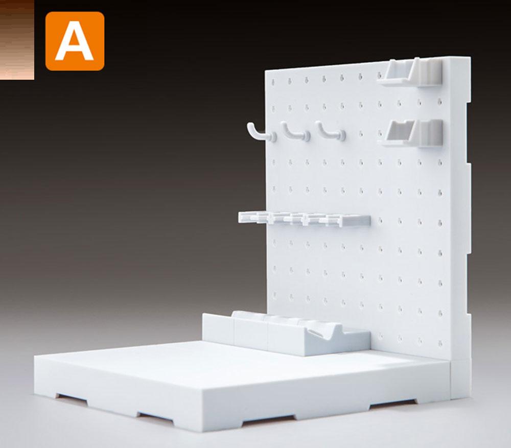 AWSP-02A ウェポンシェルフ 低タイププラモデル(橘猫工業1/12 ARMED WORLDNo.KM-034)商品画像_2