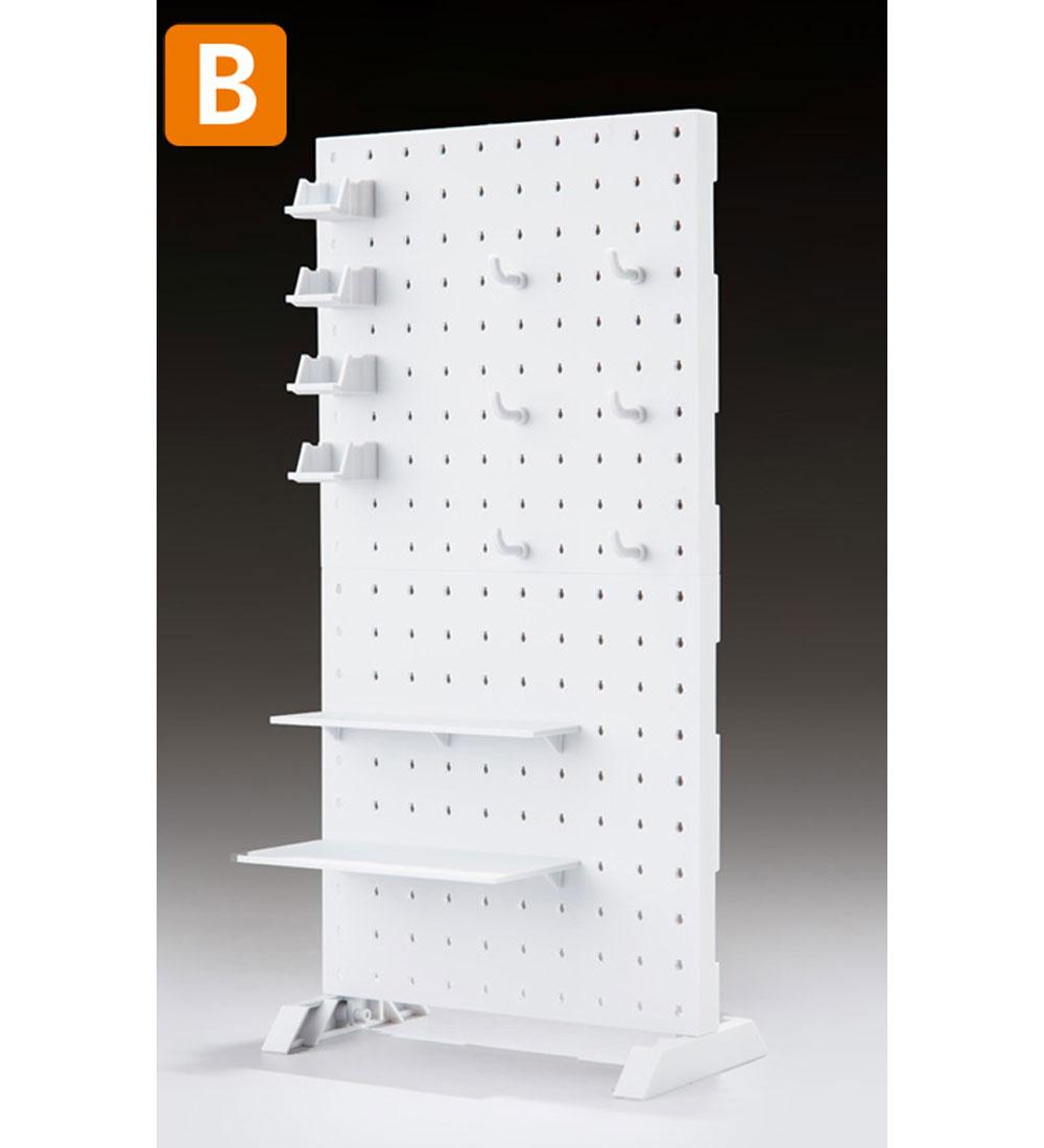 AWSP-02B ウェポンシェルフ 高タイププラモデル(橘猫工業1/12 ARMED WORLDNo.KM-035)商品画像_2