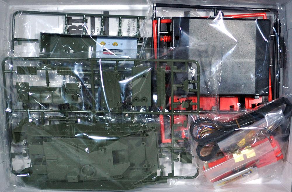 10式戦車プラモデル(アオシマリモコンプラスチックモデルシリーズNo.001)商品画像_1