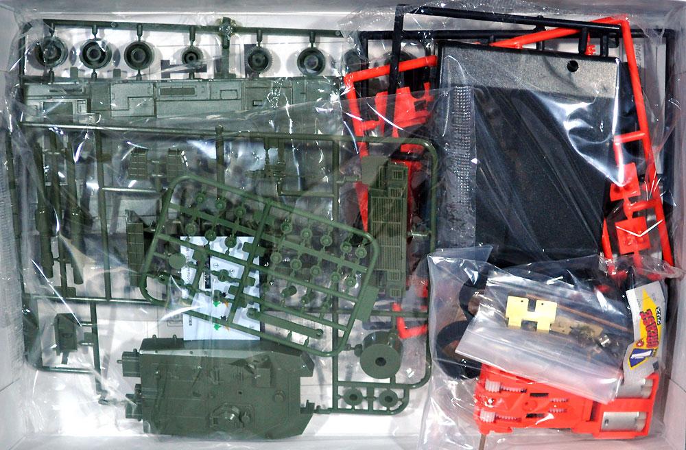90式戦車プラモデル(アオシマリモコンプラスチックモデルシリーズNo.002)商品画像_1