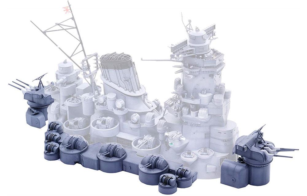 戦艦 大和 中央構造外郭プラモデル(フジミ集める装備品シリーズNo.005)商品画像_2