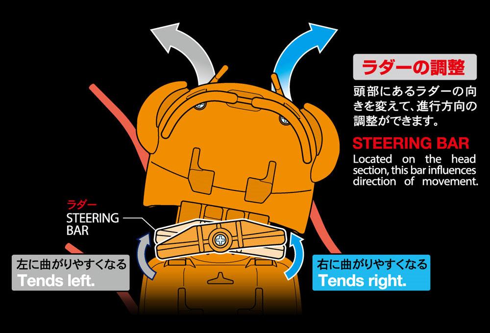 ムカデロボット工作セット クリヤーオレンジ工作キット(タミヤ楽しい工作シリーズNo.69928)商品画像_4