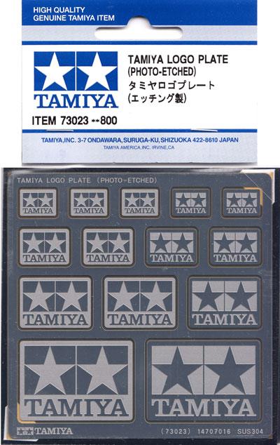 タミヤロゴプレート (エッチング製)エッチング(タミヤディスプレイグッズシリーズNo.73023)商品画像