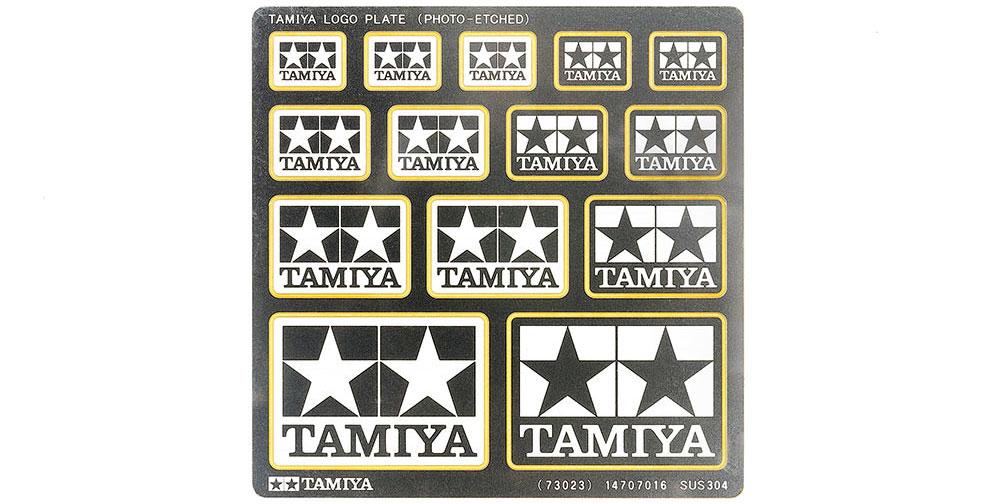 タミヤロゴプレート (エッチング製)エッチング(タミヤディスプレイグッズシリーズNo.73023)商品画像_1