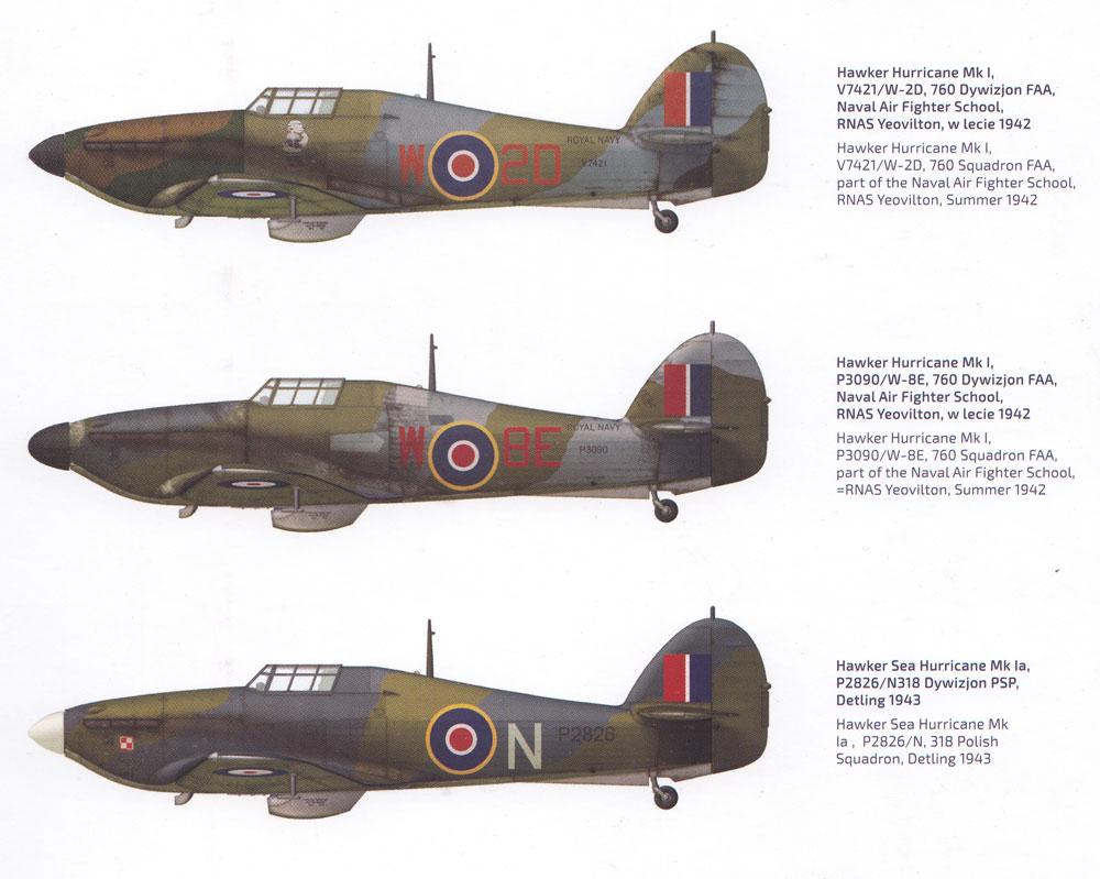 ホーカー ハリケーン Mk.1 ロイヤルネイビープラモデル(アルマホビー1/72 エアクラフト プラモデルNo.70022)商品画像_1