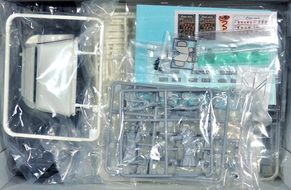 シトロエン タイプH クレープモバイル with フィギュアプラモデル(エブロ1/24 プラスチックキットNo.25013)商品画像_1
