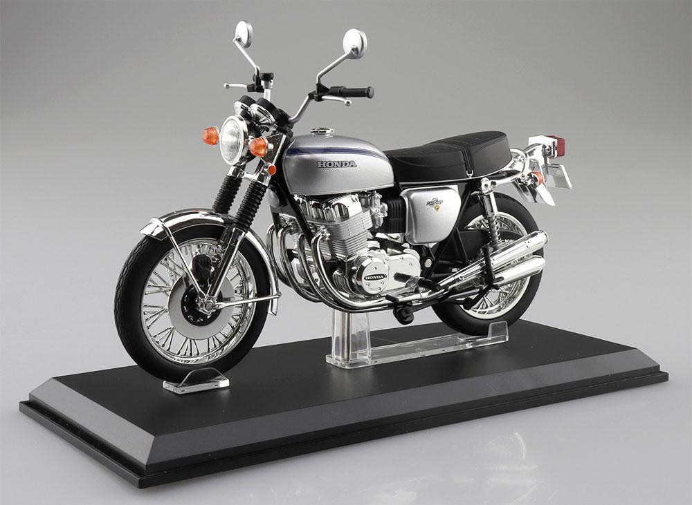 ホンダ CB750FOUR K2 シルバー完成品(アオシマ1/12 完成品バイクシリーズNo.106587)商品画像_1