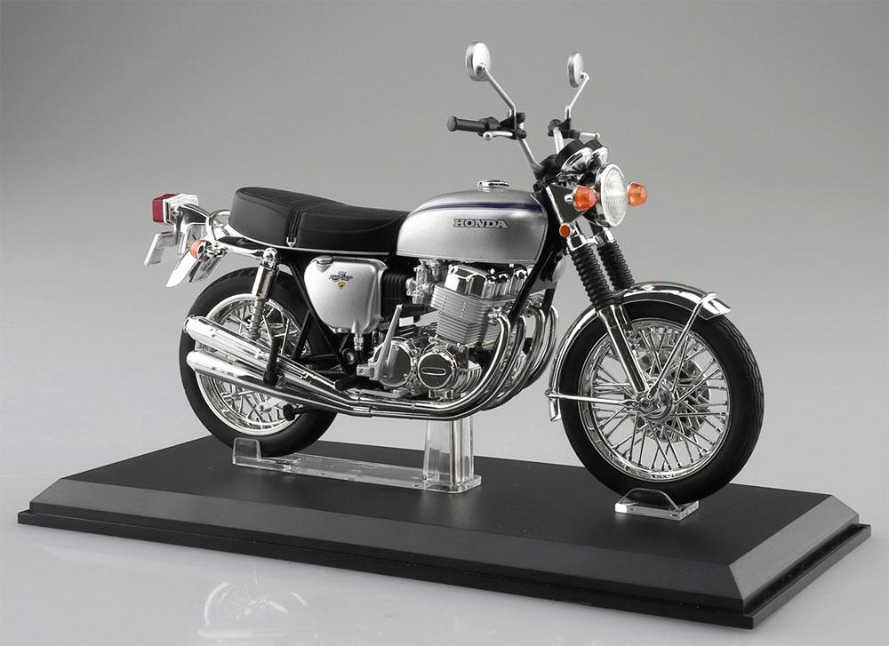 ホンダ CB750FOUR K2 シルバー完成品(アオシマ1/12 完成品バイクシリーズNo.106587)商品画像_2