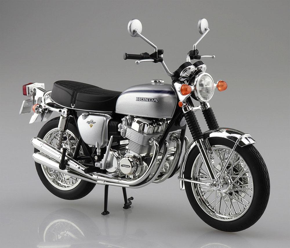 ホンダ CB750FOUR K2 シルバー完成品(アオシマ1/12 完成品バイクシリーズNo.106587)商品画像_3