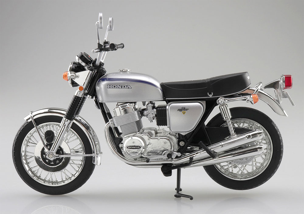 ホンダ CB750FOUR K2 シルバー完成品(アオシマ1/12 完成品バイクシリーズNo.106587)商品画像_4